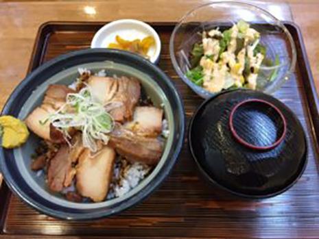 川魚の塩焼き定食