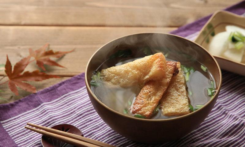 カリカリお揚げのお味噌汁